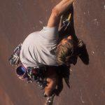 Heath Mackay Climbing Supercrack, Indian Creek Canyon, Utah