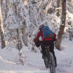 Snowy Singletrack: Fat Tire Biking Photography, Alaska