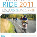 Recent Publication: Poster for the 2011 Bike MS Alaska Ride