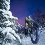 Snow Biking Action Photography, Alaska