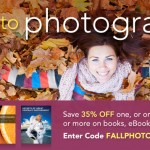 Fall Photography Sale at Peachpit Press