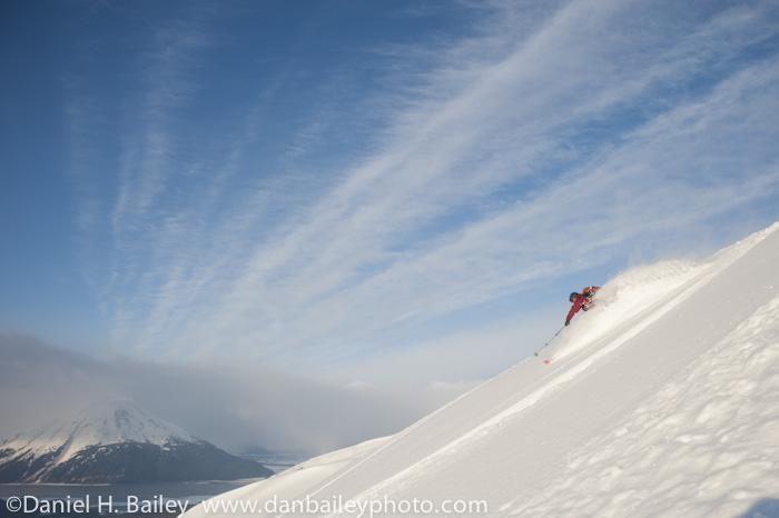 Backcountry skiing, Turnagain Pass, Alaska