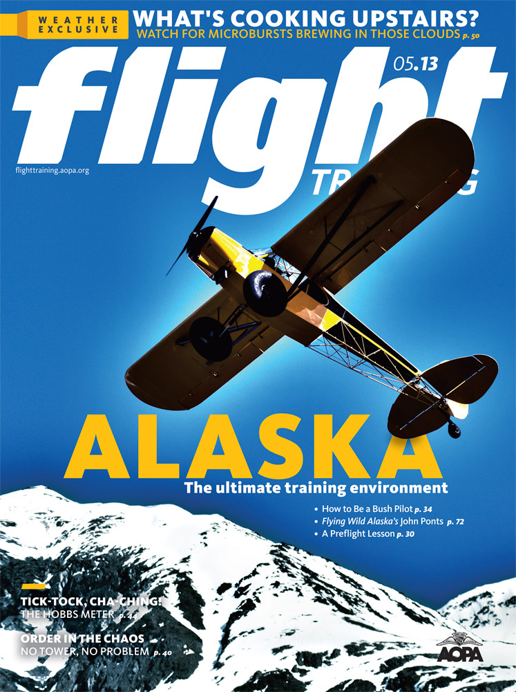 AOPA Flight Training Alaska Cover photo by Dan Bailey