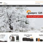 Featured Image on the Lowepro Holiday Website