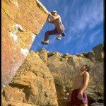 My Early Years: The Eliminator Bouldering Photo