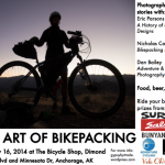 The Art of Bikepacking Presentation, July 16 in Anchorage
