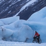 Fat Biking Photos from the Knik Glacier