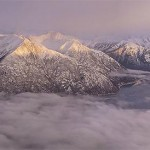 Aerial Panorama of the Turnagain Arm, Alaska