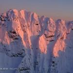 Shooting Aerials Over the Chugach Mountains of Alaska