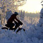 Magical Fat Tire Snow Biking Photo Shoot
