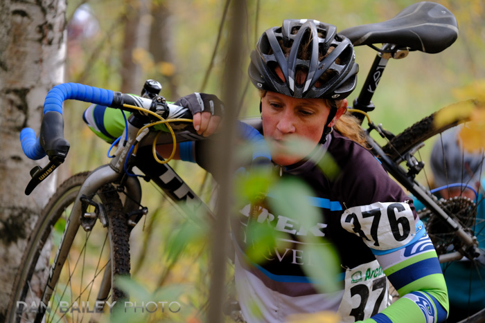 Arctic Cross cyclocross race, Harvard Park, Anchorage, Alaska