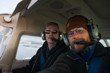 First flight in a C172 with Mike the instructor
