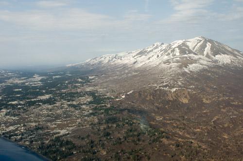 West side of Mt. Susitna