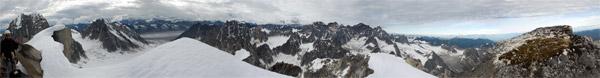 Panorama, Little Switzerland, Pika Glacier, Alaska