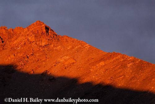 Sunset over Mount Massive, Colorado