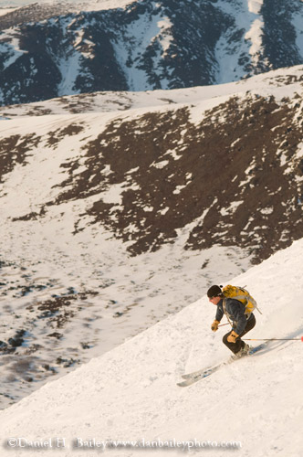 Jeff Conaway Spring Skiing, Chugach Range, Alaska