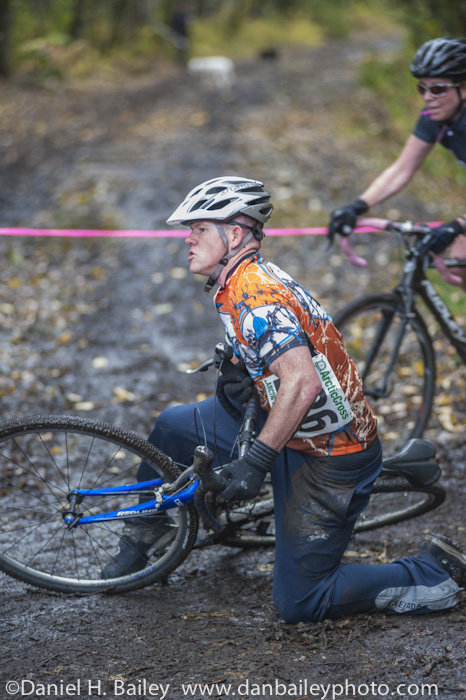 Arctic Cross cyclocross race, Anchorage, Alaska