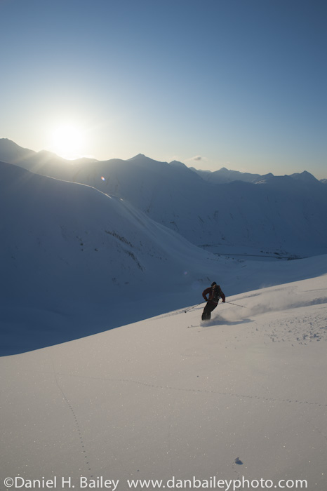 backcountry skiing, Turnagain pass, Alaska