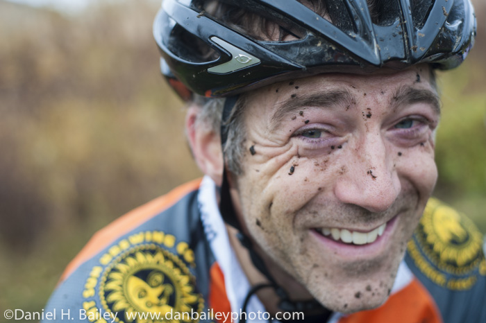 Portrait of cyclcross racer, Tim Berntsen. Anchorage, Alaska