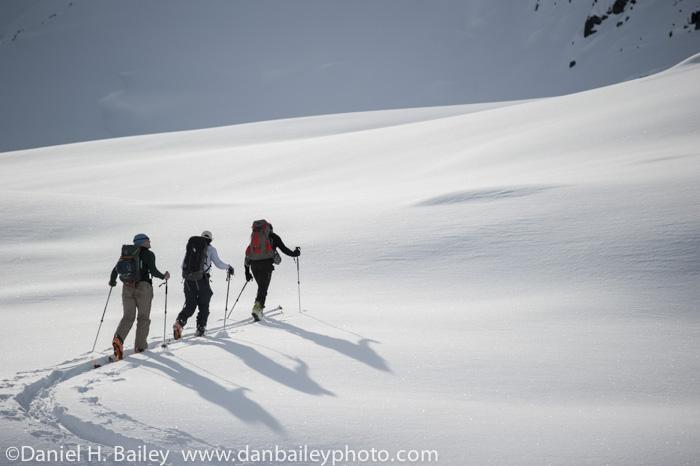 Backcountry Skiing, Alaska