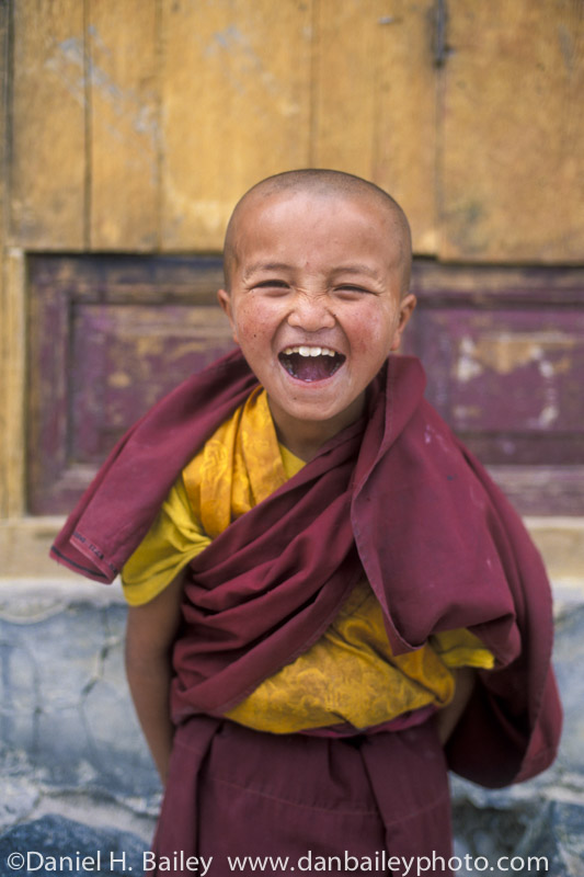 Young Buddhist Lama, Ladakh, India