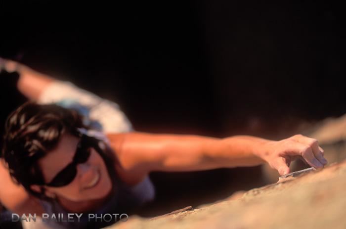 Sabina Mackay bouldering, Pitch Penny Boulder, Horsetooth Reservoir, Fort Collins, Colorado