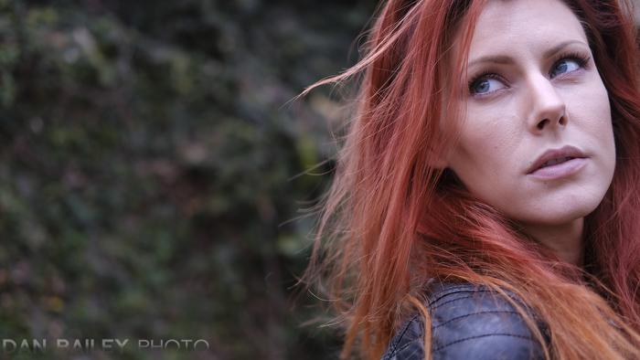 Portrait of Tara Betasole, shot at Universal Studios, Los Angeles, California