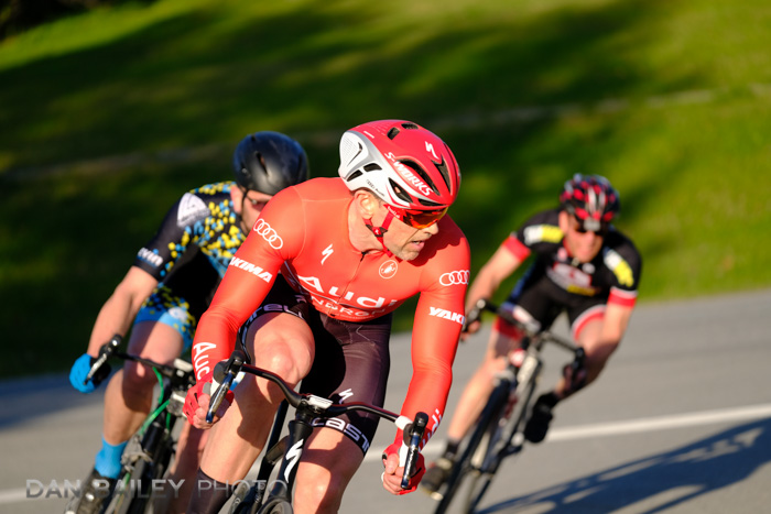 Kulis Crit Bike Race in Anchorage, Alaska