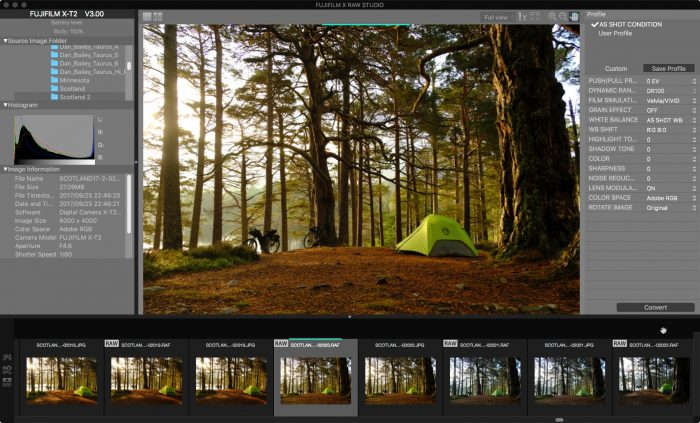 FUJIFILM Introduces Free X RAW STUDIO RAW Conversion Software | Dan